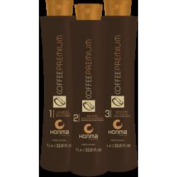 Набор Honma Coffee Premium All Liss 3x500 мл