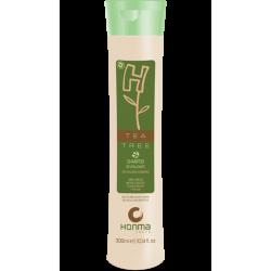 Шампунь бессолевой ревитализирующий Honma H-Tea Tree Shampoo 300 мл