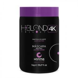 Маска для светлых волос Honma H-Blond Trilogy 4K Nutriblond Solution Matriz Mascara 1000 мл