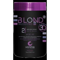 Маска матизатор тонирующая Honma Blond Trilogy Pro Nutriblond Solution Hair Mask 1000 мл