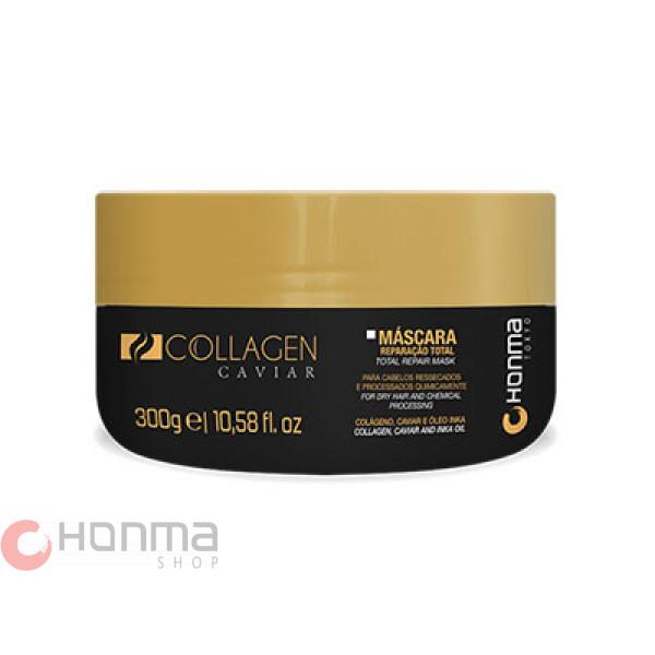Маска глубокого восстановления Honma Collagen Caviar Mascara 300 мл